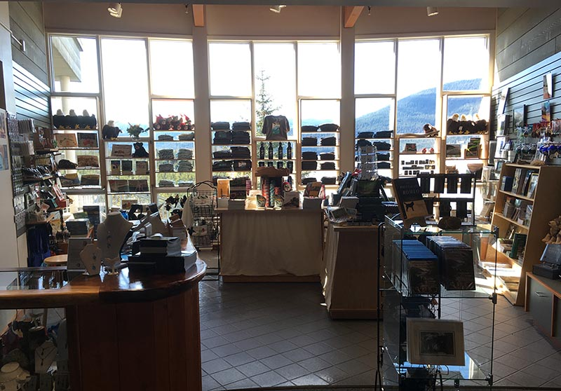 Mendenhall Glacier Bookstore