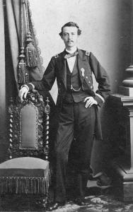 Richard Worsam Meade (looking dapper).